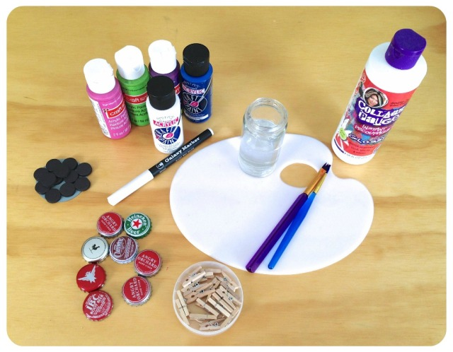 Bottle Cap supplies